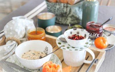 Auge isst mit. Frühstückstisch für Individualisten