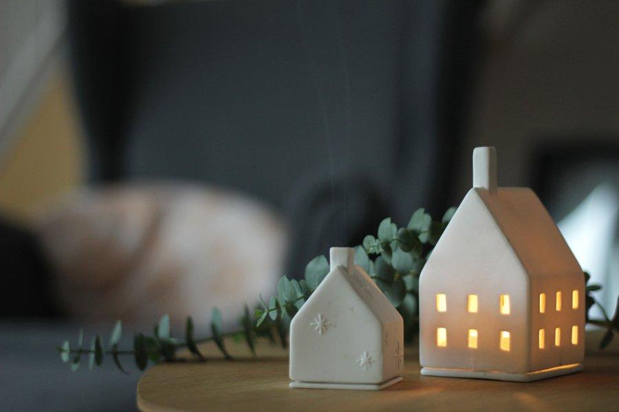 Lichthäuser für ein warmes Leuchten zur dunklen Jahreszeit