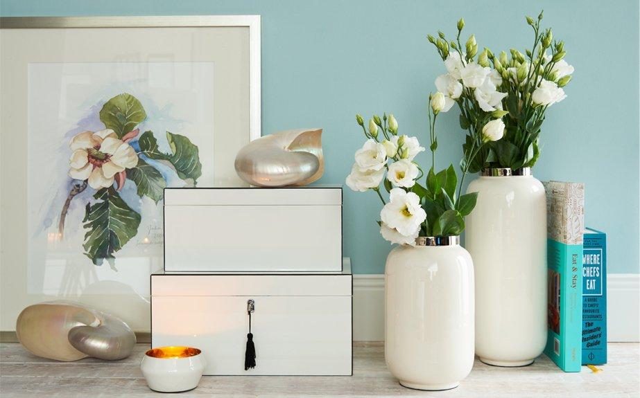 Tipps zum Dekorieren mit Vasen